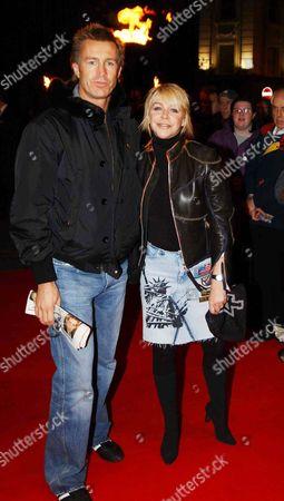 Lee Chapman and Leslie Ash