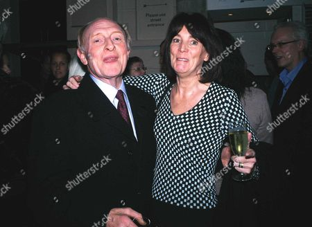 First Night of 'Hedda Gabler' at the Almeida Theatre Islington Lord Neil Kinnock and Lady Sue Eyre