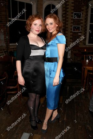 First Night of 'Talent' at the Menier Chocolate Factory London Bridge Co-stars Suzie Toase and Leanne Rowe