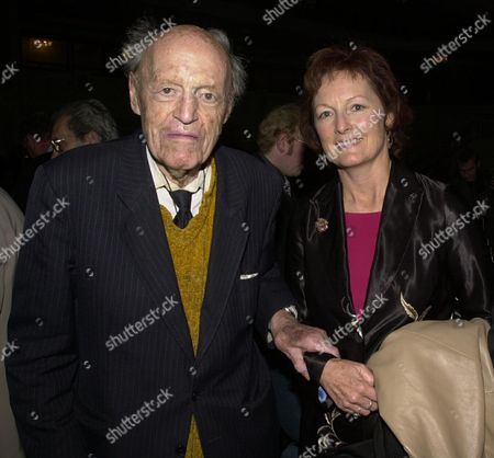Foyles 70th Anniversary Lunch at the Grosvenor House Hotel Lord Longford with His Daughter Lady Rachel Billington