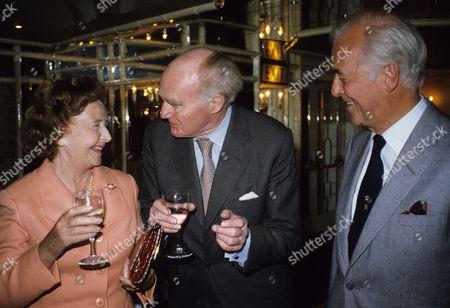Foyles Lunch For Michael Denison Lady Dulcie Gray with Sir Michael Gilliatt and Michael Denison