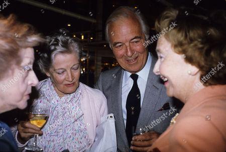 Foyles Lunch For Michael Denison Rachel Redgrave Michael Denison and Lady Dulcie Gray