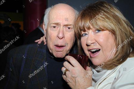 Gala Screening of the Dr Who Christmas Episode at the Science Museum Clive Swift and Nerys Hughes