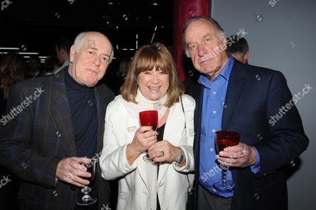 Gala Screening of the Dr Who Christmas Episode at the Science Museum Clive Swift Nerys Hughes and Geoffrey Palmer