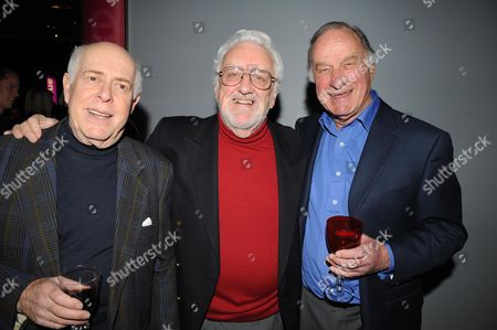 Gala Screening of the Dr Who Christmas Episode at the Science Museum Clive Swift Bernard Cribbins and Geoffrey Palmer