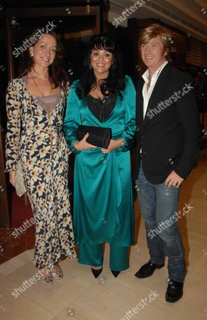 Opening Party of the Gilt Champagne Lounge at the Jumreriah Carlton Tower Hotel Knightsbridge Miss Dee Martine Mccutcheon & Nicky Clarke