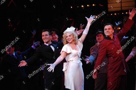 Change of Cast at Guys & Dolls at the Piccadilly Theatre London Patrick Swayze ( Nathan Detroit) Samantha Janus ( Miss Adelaide) Norman Bowman ( Sky Masterson)