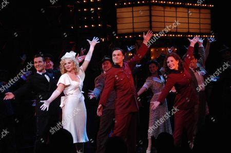 Change of Cast at Guys & Dolls at the Piccadilly Theatre London Patrick Swayze ( Nathan Detroit) Samantha Janus ( Miss Adelaide) Norman Bowman ( Sky Masterson) Amy Nuttall ( Sarah Brown)