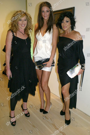'Hear the World' Photography Exhibition Private View at the Saatchi Gallery Chelsea London Kelly Hoppen Violet ( Lauren ) Budd & Nancy Dell'olio