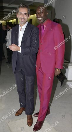 Hermes Men's Autumn/winter 2000 Collection Fashion Show and Party at the David Gill Gallery Yan Berluti Shoes and Oswald Boateng