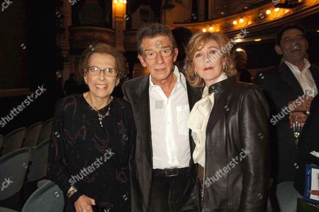 1st Night and Drinks Party For Hero's at Wyndhams Theatre Charing Cross Road London Miriam Karlin John Hurt & Patrica Hodge