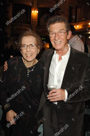1st Night and Drinks Party For Hero's at Wyndhams Theatre Charing Cross Road London Miriam Karlin John Hurt
