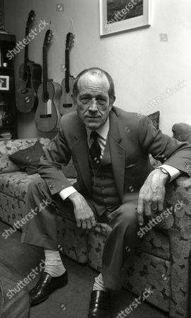 Stock Photo of Ian Hendry at Home