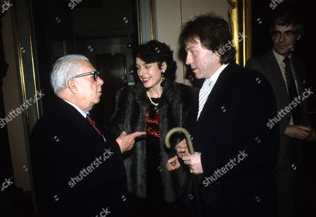 Jack Howarth with Roddy and Tania Llewellyn
