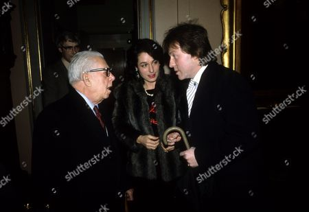 Stock Picture of Jack Howarth with Roddy and Tania Llewellyn