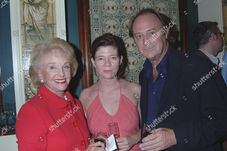 The 10th Anniversary Fundraising Gala For the Jermyn Street Theatre at the Criterion Theatre Moira Lister with Christopher Cazenove & Isabel Davies