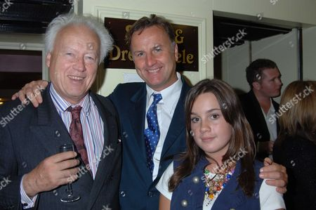 The 10th Anniversary Fundraising Gala For the Jermyn Street Theatre at the Criterion Theatre Lord Moyne ( Jonathan Guinness) with His Son Valentine Guinness & His Daughter Tara Guinness