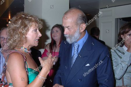 The 10th Anniversary Fundraising Gala For the Jermyn Street Theatre at the Criterion Theatre Moray Watson & Prince Michael of Kent