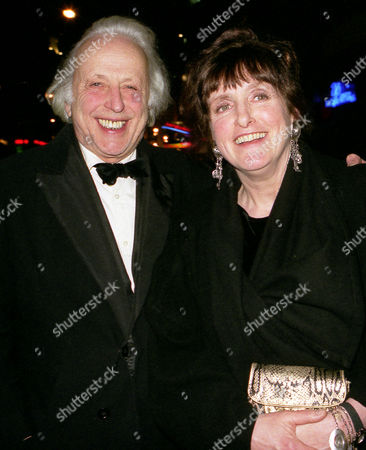 Party at Cafe De Paris Peregrine Worsthorne with His Wife Lucinda Lambton
