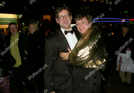 Stock Photo of Party at Cafe De Paris Dominic Lawson and Rosa Monkton