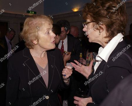 Joint Book Launch of at the Waiting Room Courthouse Hotel Kempinski Great Marlborough Street Sue Macgregor Maureen Lipman