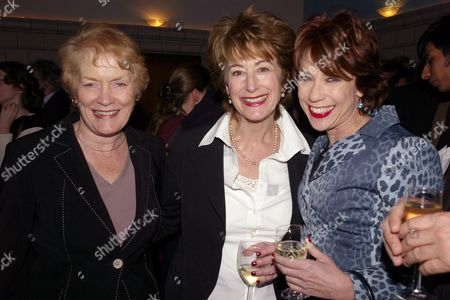 Joint Book Launch of at the Waiting Room Courthouse Hotel Kempinski Great Marlborough Street Sue Macgregor Maureen Lipman and Kathy Lette