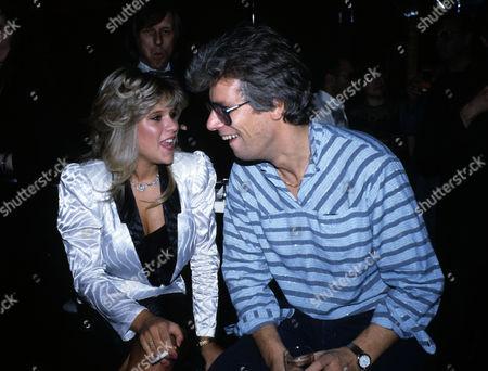 Stock Photo of October 1984 Karen Stringfellow's Birthday Party Samantha Fox and Mike Reid
