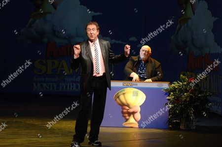 Launch of 'Spamalot' at the Palace Theatre Cambridge Circus Eric Idle and John Du Prez