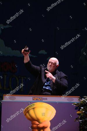 Launch of 'Spamalot' at the Palace Theatre Cambridge Circus John Du Prez