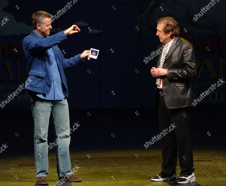 Launch of 'Spamalot' at the Palace Theatre Cambridge Circus Tim Hatley and Eric Idle