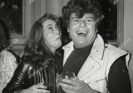 Launch of the Book Ô by Invitation Only' at Langans Brasserie Mayfair Ruth Burnett (kermitt ) and Gary Glitter