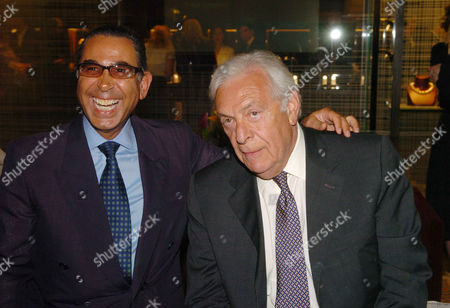 'The Russian House' Book Launch Party at De Beers Showroom Old Bond Street Nasser David Khalili and Stefan Wingate