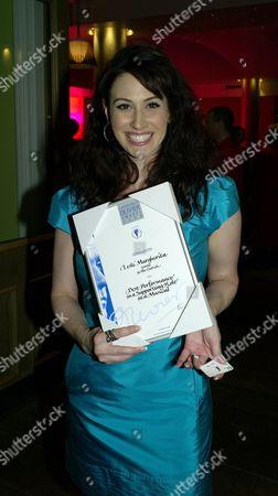Laurence Olivier Awards Nominees Lunch at the Haymarket Hotel Haymarket London Lesli Margherita