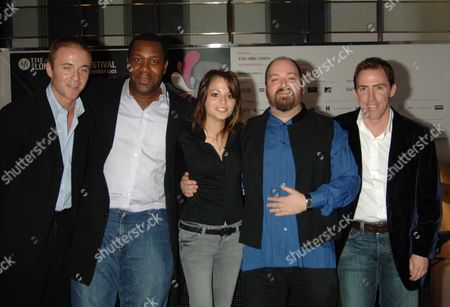 The Bfi London Film Festival Screening of Mirrormask at the Odeon Westend Leicester Square London Jason Barry Lenny Henry Stephanie Leonidas the Films Director Dave Mckean & Rob Brydon