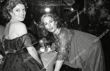 21st Birthday Party at Stringfellows Night Club Celestia Fox and Tracy Reed