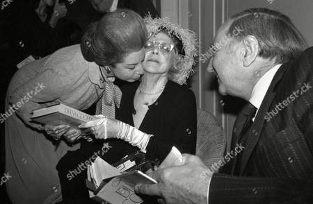 Luncheon at the Dorchester Hotel Lady Diana Cooper and Dame Alicia Markova