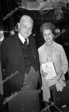 Luncheon at the Dorchester Hotel Lord Hailsham and Dame Alicia Markova