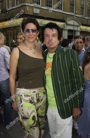 Mario Testino Private View of 'Disciples' at Timothy Taylor Gallery Dering Street London Uk Gislaine Maxwell & Nicky Haslem