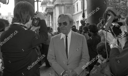 Early 1980's Memorial Service For Peter Sellers at St Martins in the Fields John Le Mesurier