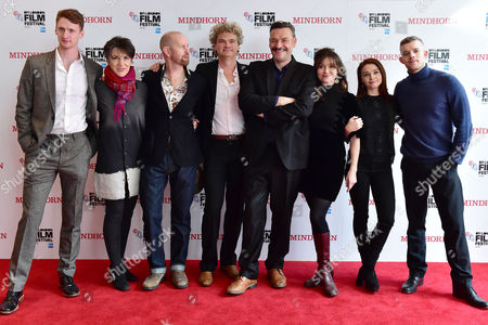 Editorial photo of Mindhorn London Film Festival Prem On the 9th October 2016