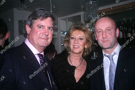 Opening Party at 'Mint' in Sloane Street London John Llewellyn Marie Clare Baroness Von Alvensleben Sabastion Sainsbury the Owner of Mint