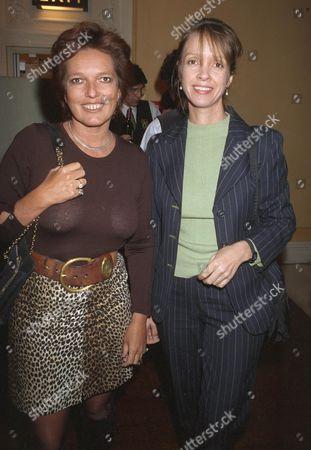 Celestia Fox and Sabrina Guinness
