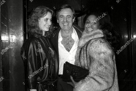 Outside Tramp Nightclub Robert Windsor and Grace Kennedy