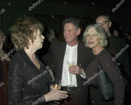 Orion Publishing Party at the Victoria & Albert Museum Brompton Road Edna O'brien Michael Palin and Dame Helen Mirren