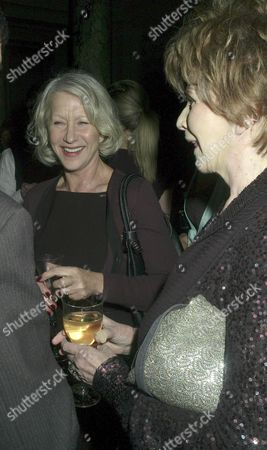 Orion Publishing Party at the Victoria & Albert Museum Brompton Road Dame Helen Mirren with Edna O'brien