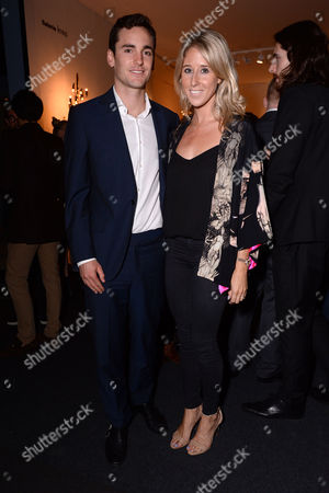 London UK 3rd October 2016: Fawn James with Her Husband Nick Lawson Attend Pad London - Collectors Preview at Berkeley Square On the 3rd October 2016