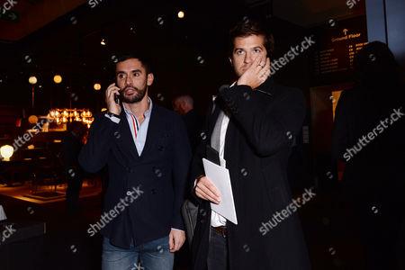 London UK 3rd October 2016: Jean-bernard Fernandez-versini and Jack Freud Attends Pad London - Collectors Preview at Berkeley Square On the 3rd October 2016