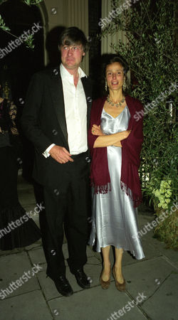 Party After the Wedding at Home House Portman Square Bunter Somerset Marquess of Worcester with His Wife Tracy Ward