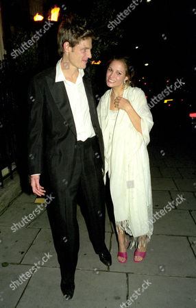 Stock Picture of Party After the Wedding at Home House Portman Square the Bride and Groom Zac Goldsmith and Sheherazade Ventura-bentley Leave Their Party at 3am