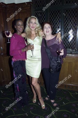 Josette Simon Jerry Hall and Pam Ferris